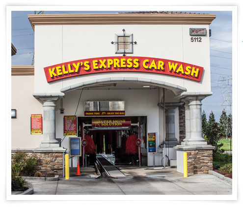 Contact Kelly's Express Carwash